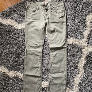 Light Olive Green Pants